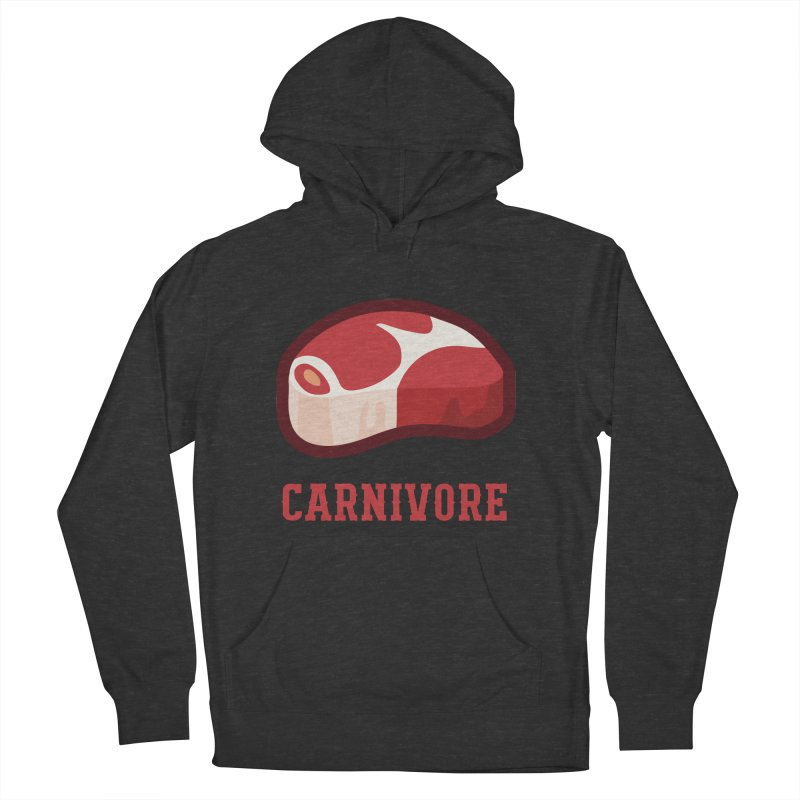 Carnivore Men's French Terry Pullover Hoody by inkhip's Artist Shop
