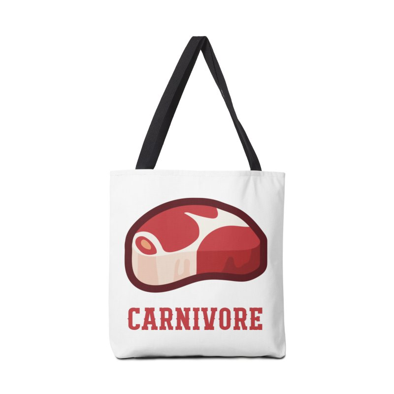 Carnivore Accessories Bag by inkhip's Artist Shop