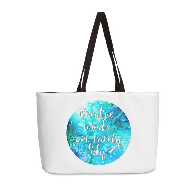 Creative Minds Accessories Weekender Bag Bag by Inkie Quill Shop