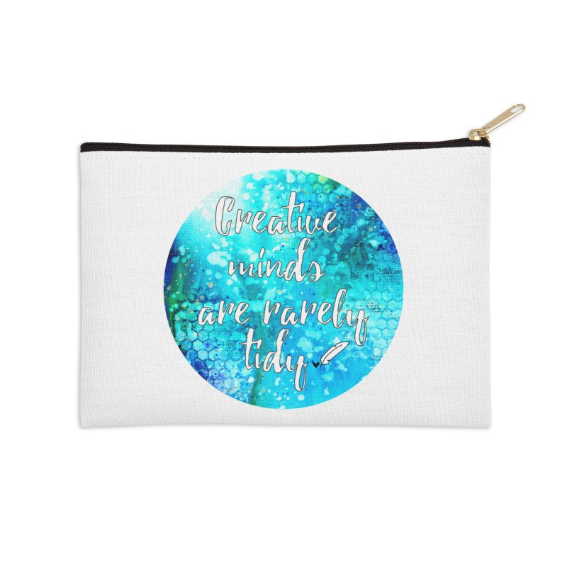 Creative Minds Accessories Zip Pouch by Inkie Quill Shop