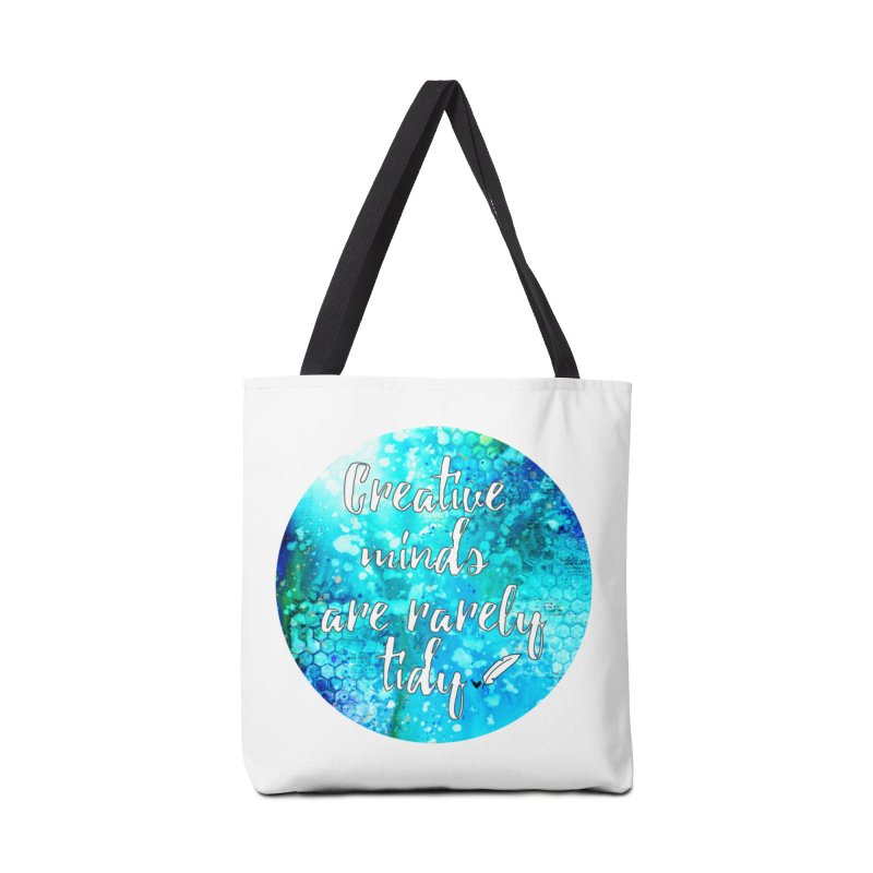 Creative Minds Accessories Tote Bag Bag by Inkie Quill Shop