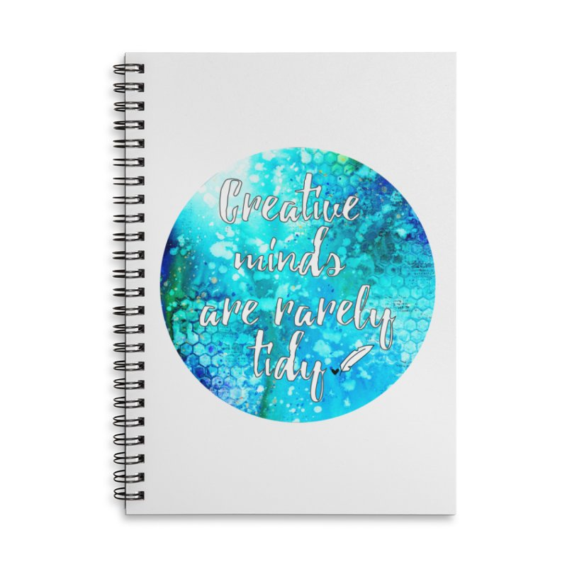 Creative Minds Accessories Lined Spiral Notebook by Inkie Quill Shop