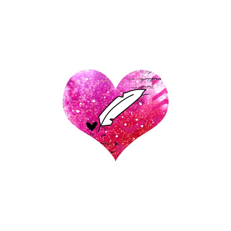 I Heart Inkie - Pink by Inkie Quill Shop