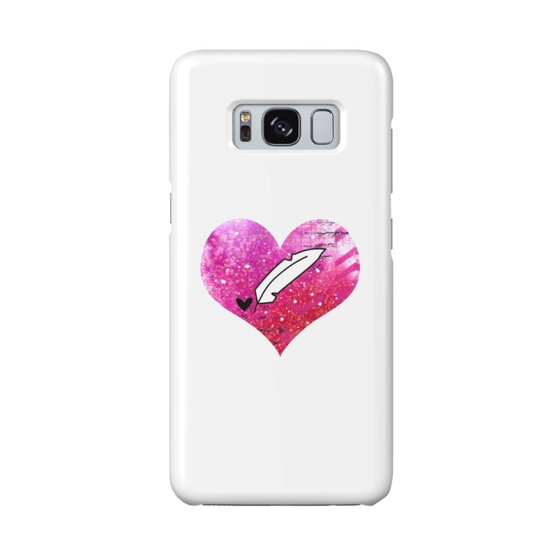 I Heart Inkie - Pink Accessories Phone Case by Inkie Quill Shop