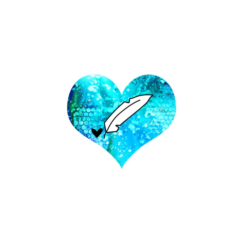 I Heart Inkie - Blue by Inkie Quill Shop