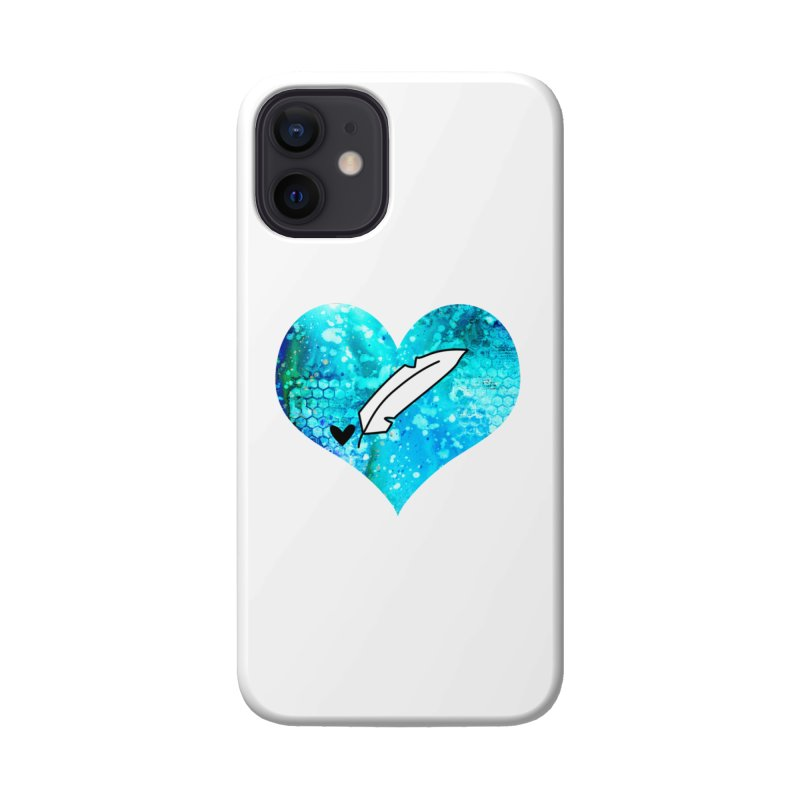 I Heart Inkie - Blue Accessories Phone Case by Inkie Quill Shop