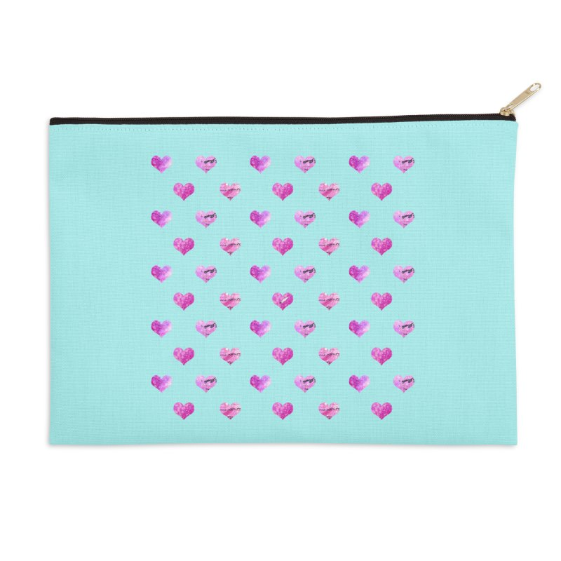 Lots of Love Accessories Zip Pouch by Inkie Quill Shop