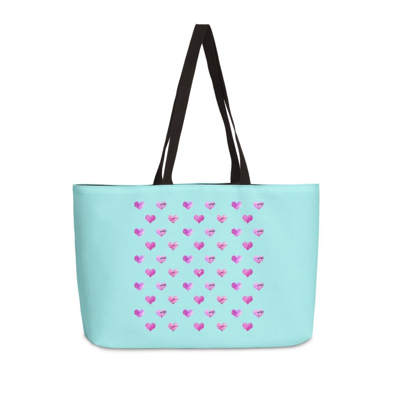 Lots of Love Accessories Weekender Bag Bag by Inkie Quill Shop