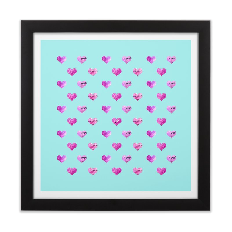 Lots of Love Home Framed Fine Art Print by Inkie Quill Shop