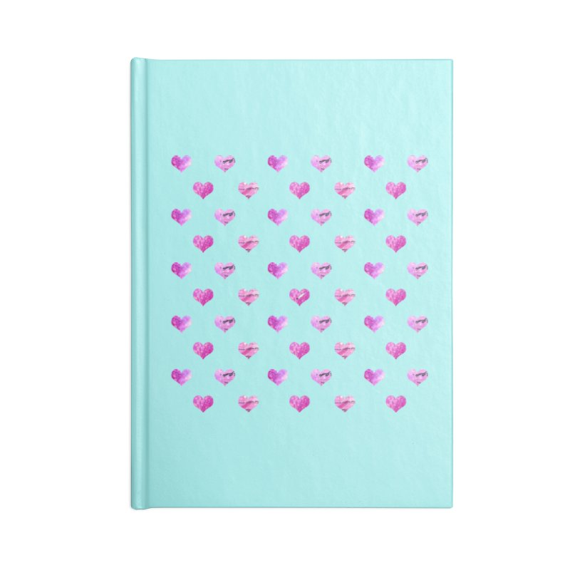 Lots of Love Accessories Blank Journal Notebook by Inkie Quill Shop
