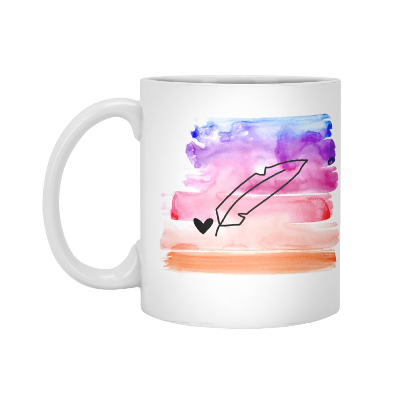 Coloured Ink Accessories Standard Mug by Inkie Quill Shop