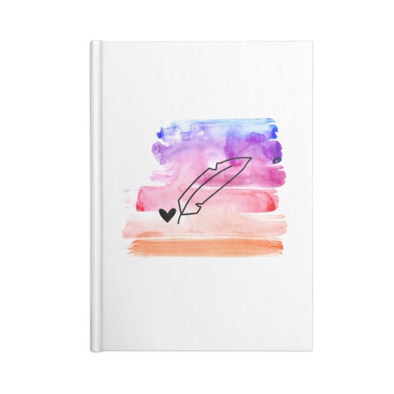 Coloured Ink Accessories Notebook by Inkie Quill Shop