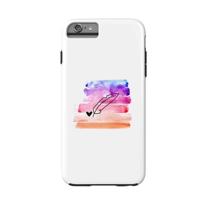 Coloured Ink Accessories Phone Case by Inkie Quill Shop