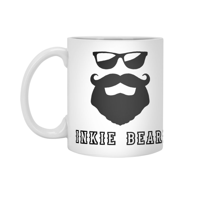 Inkie Beard Classic Accessories Standard Mug by Inkie Quill Shop