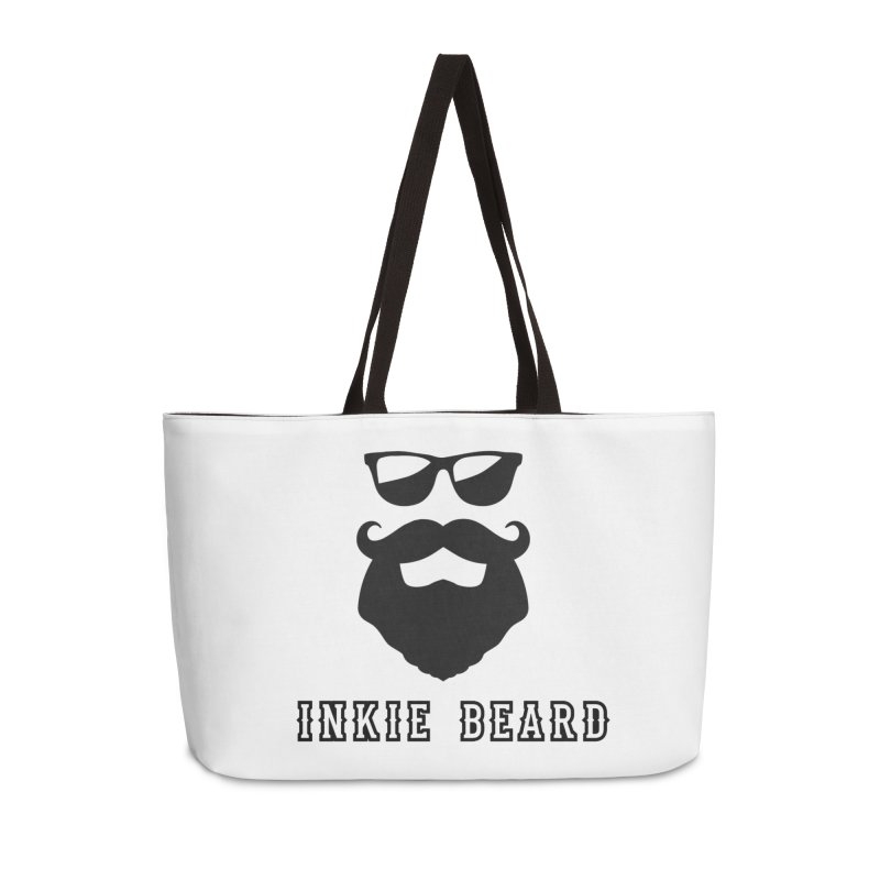 Inkie Beard Classic Accessories Weekender Bag Bag by Inkie Quill Shop