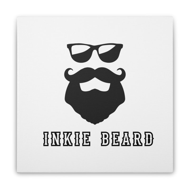 Inkie Beard Classic Home Stretched Canvas by Inkie Quill Shop