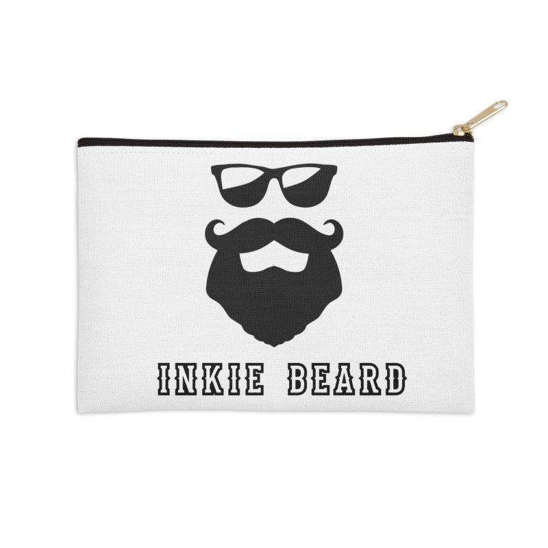 Inkie Beard Classic Accessories Zip Pouch by Inkie Quill Shop