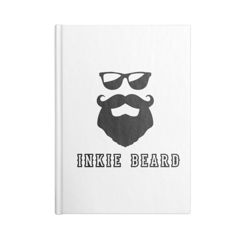 Inkie Beard Classic Accessories Lined Journal Notebook by Inkie Quill Shop