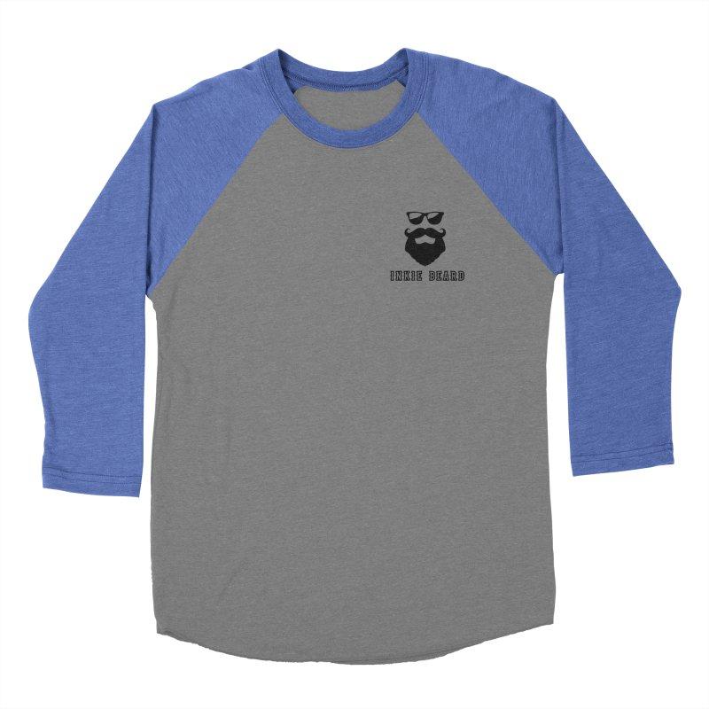 Inkie Beard Classic Men's Baseball Triblend Longsleeve T-Shirt by Inkie Quill Shop
