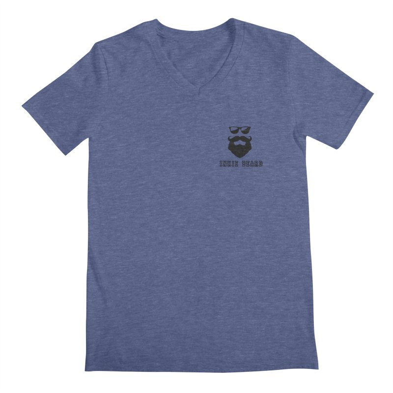 Inkie Beard Classic Men's V-Neck by Inkie Quill Shop