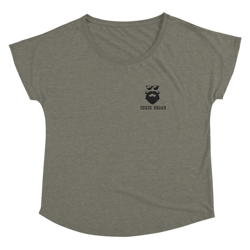 Inkie Beard Classic Women's Scoop Neck by Inkie Quill Shop