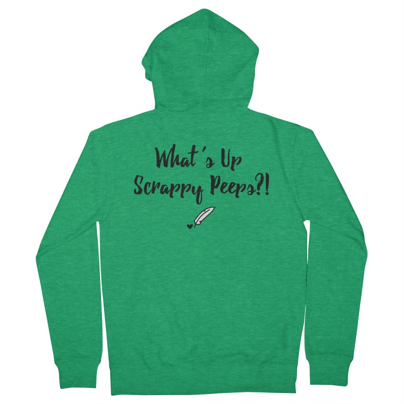 What's Up Scrappy Peeps #1 Women's Zip-Up Hoody by Inkie Quill Shop