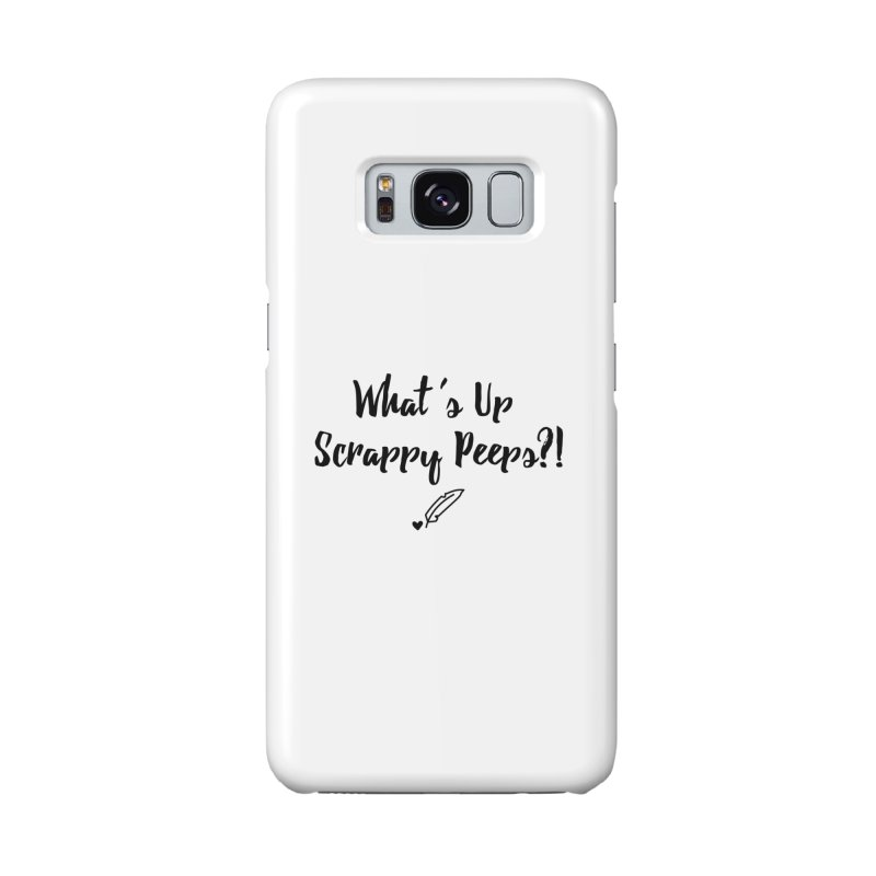 What's Up Scrappy Peeps #1 Accessories Phone Case by Inkie Quill Shop