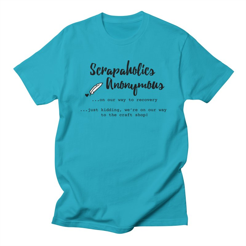 Scrapaholics Anonymous #1 Men's T-Shirt by Inkie Quill Shop