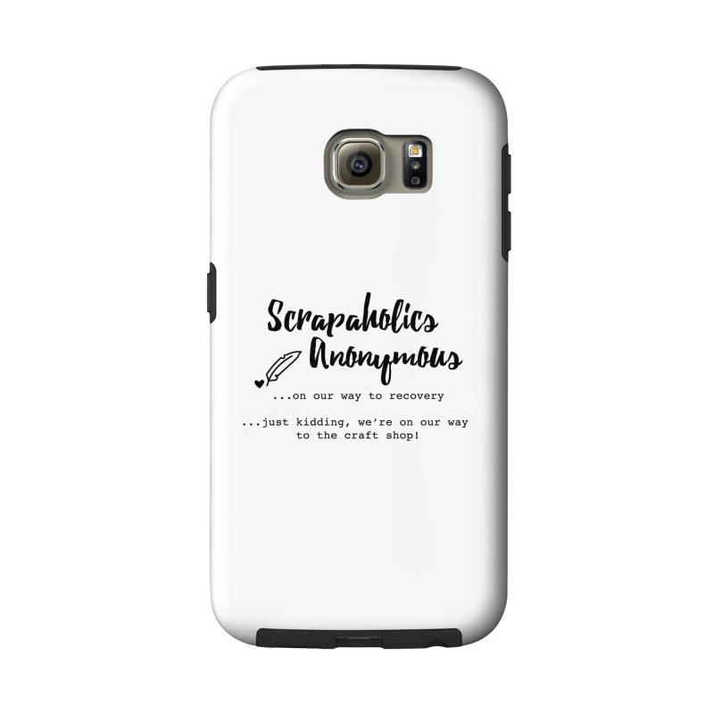 Scrapaholics Anonymous #1 Accessories Phone Case by Inkie Quill Shop