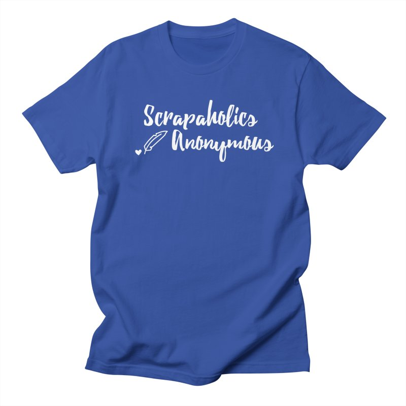 Scrapaholics Anonymous #2 Men's T-Shirt by Inkie Quill Shop