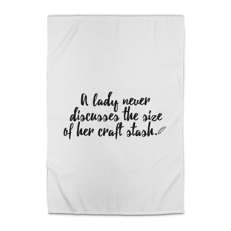Size of Her Stash Home Rug by Inkie Quill Shop
