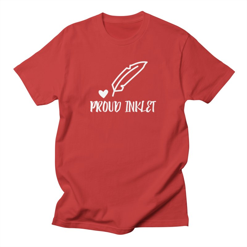 Proud Inklet Men's T-Shirt by Inkie Quill Shop