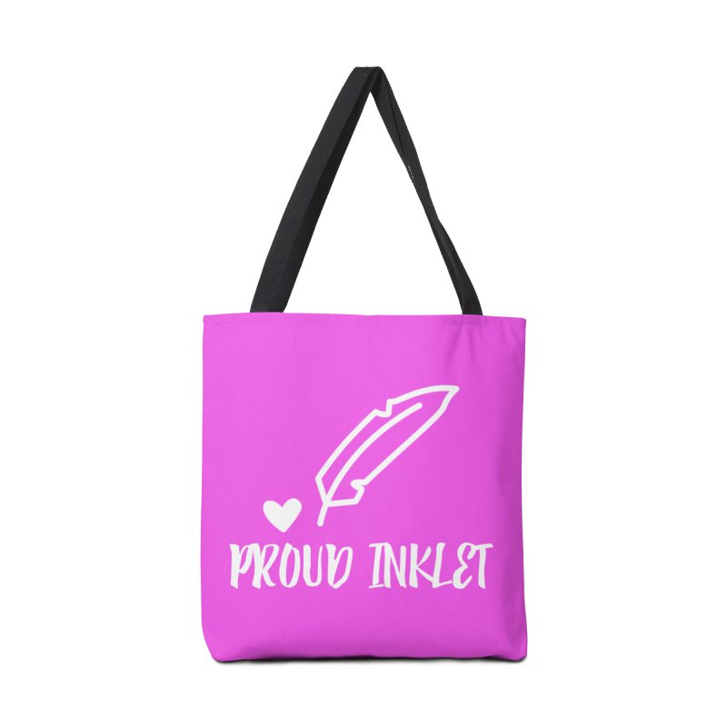 Proud Inklet Accessories Bag by Inkie Quill Shop