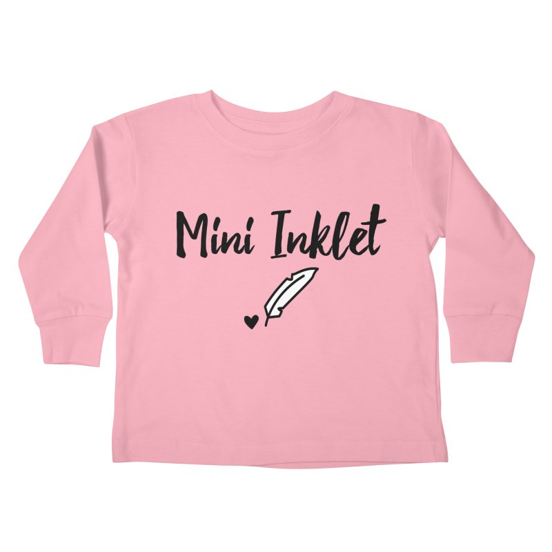Mini Inklet ~ Kids Only Kids Toddler Longsleeve T-Shirt by Inkie Quill Shop