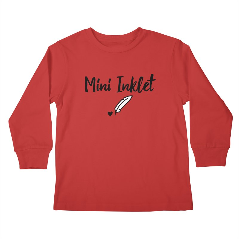 Mini Inklet ~ Kids Only Kids Longsleeve T-Shirt by Inkie Quill Shop