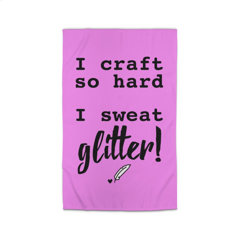 I Craft So Hard Home Rug by Inkie Quill Shop