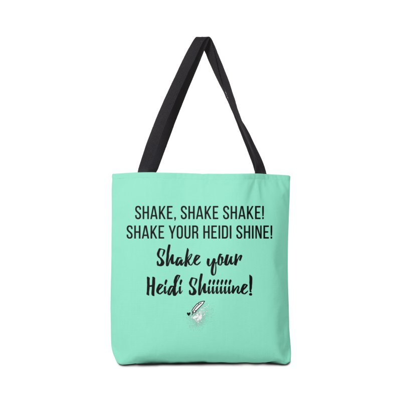 Shake Your Heidi Shine! Accessories Tote Bag Bag by Inkie Quill Shop
