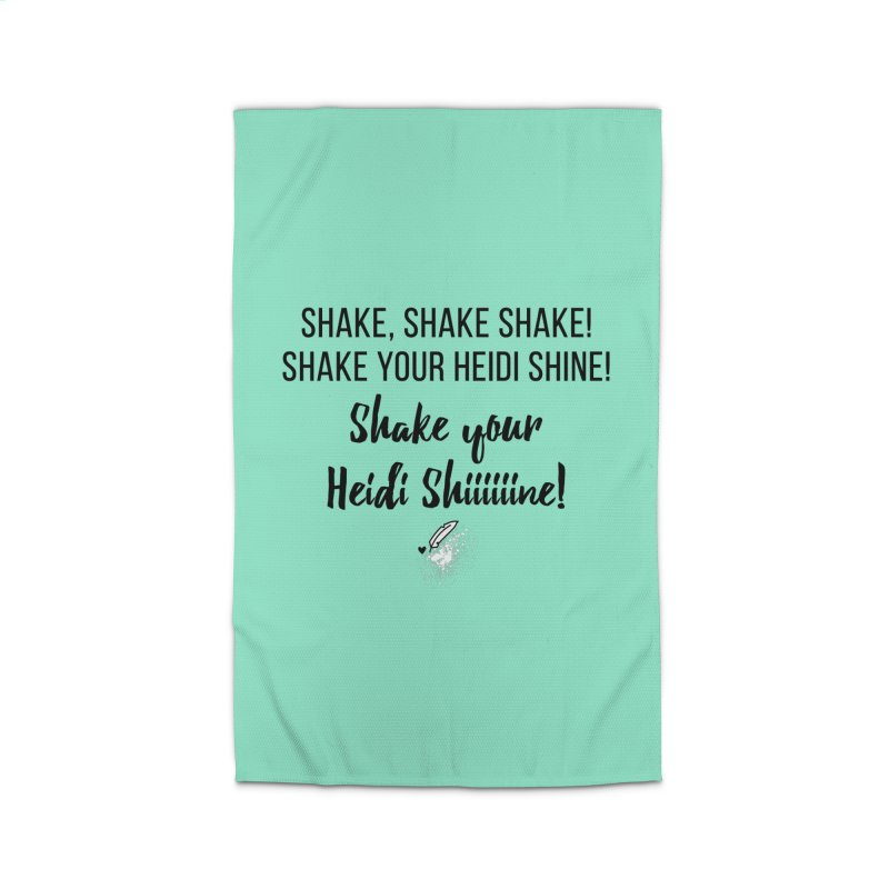 Shake Your Heidi Shine! Home Rug by Inkie Quill Shop
