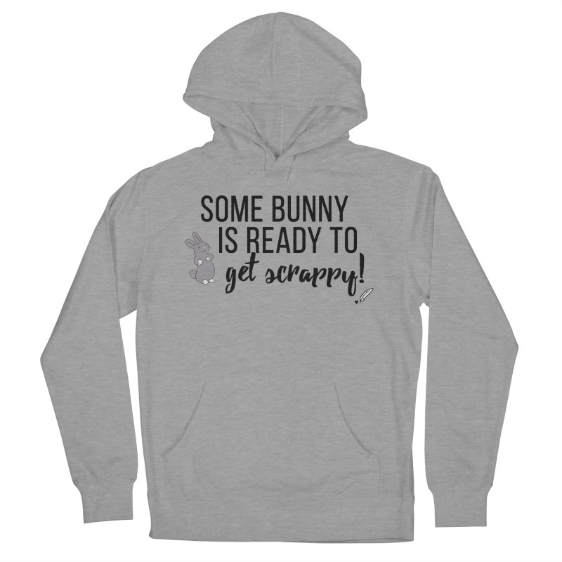 Some Bunny  Women's French Terry Pullover Hoody by Inkie Quill Shop