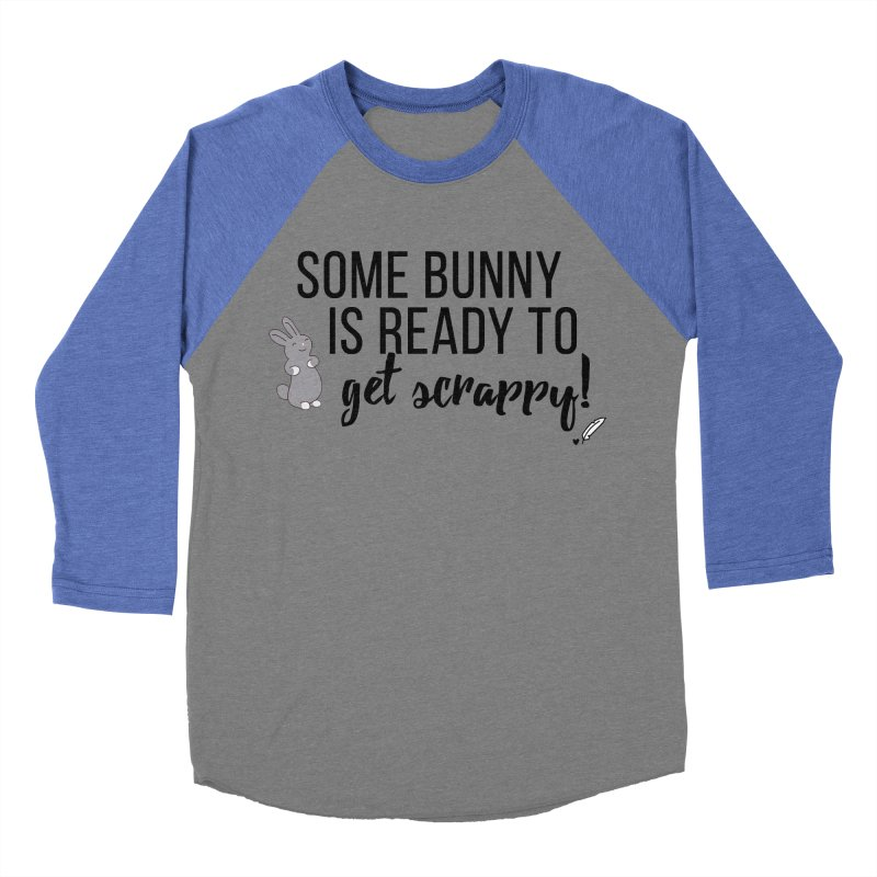 Some Bunny  Women's Baseball Triblend Longsleeve T-Shirt by Inkie Quill Shop