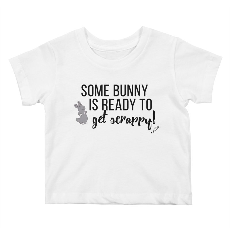 Some Bunny  Kids Baby T-Shirt by Inkie Quill Shop