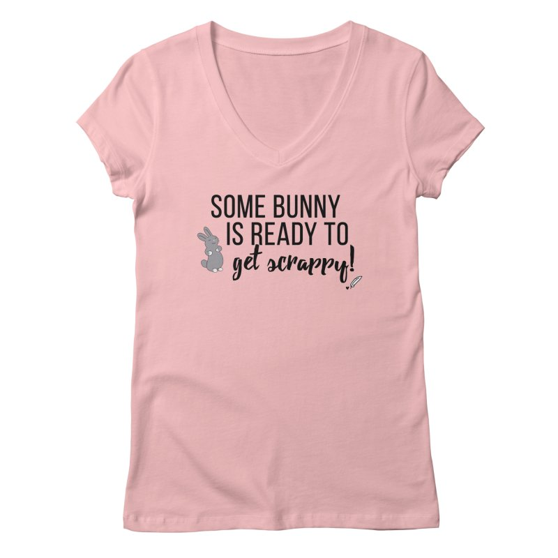 Some Bunny  Women's V-Neck by Inkie Quill Shop