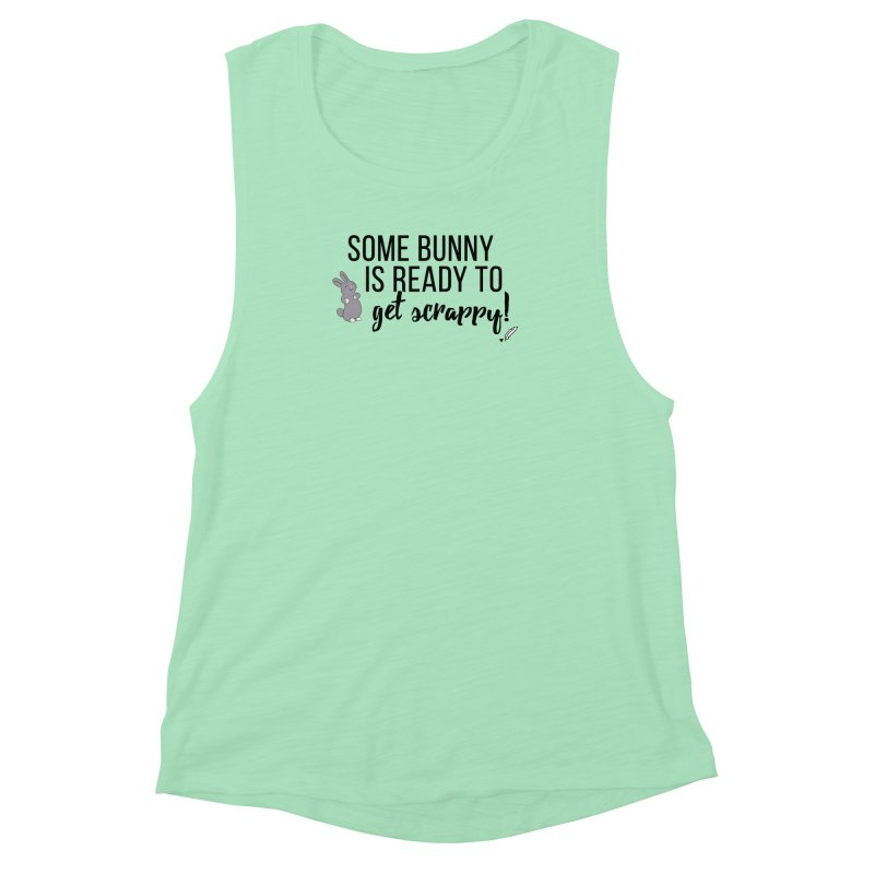 Some Bunny  Women's Muscle Tank by Inkie Quill Shop
