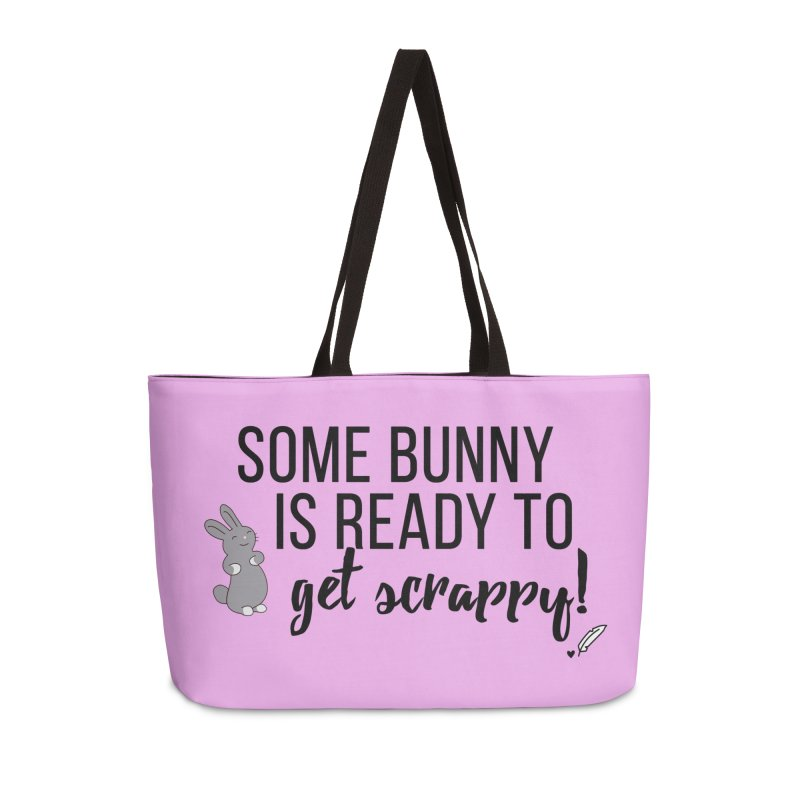 Some Bunny  Accessories Bag by Inkie Quill Shop