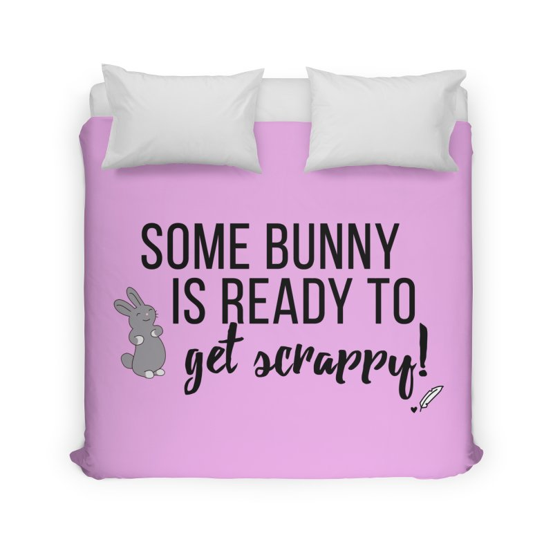 Some Bunny  Home Duvet by Inkie Quill Shop