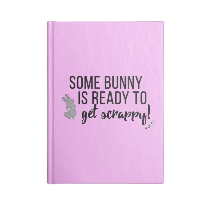 Some Bunny  Accessories Lined Journal Notebook by Inkie Quill Shop