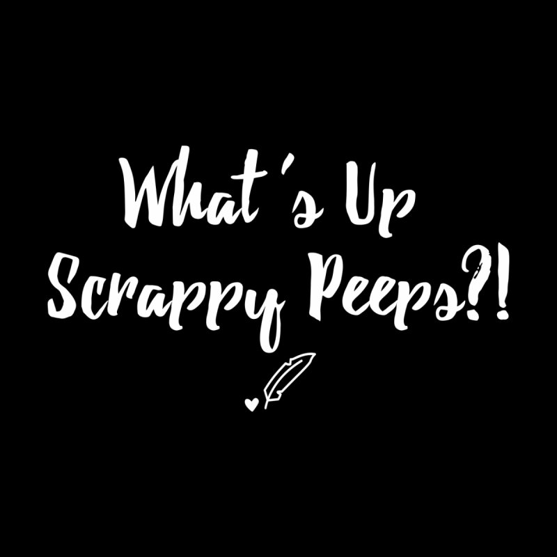 What's Up Scrappy Peeps #2 Accessories Notebook by Inkie Quill Shop