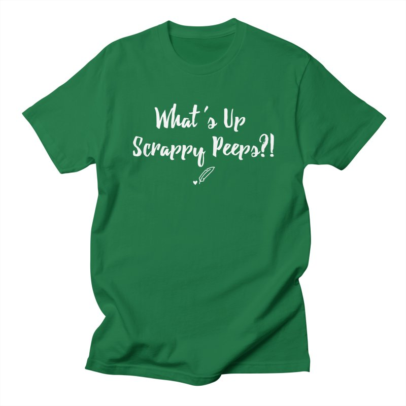 What's Up Scrappy Peeps #2 Men's Regular T-Shirt by Inkie Quill Shop