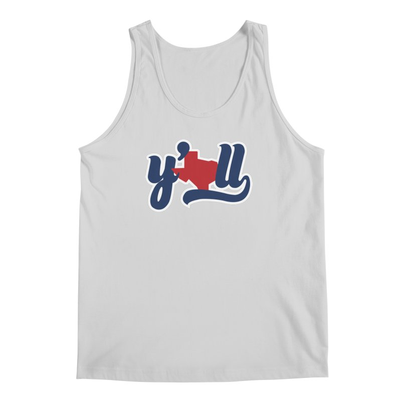 Texas y'all Men's Regular Tank by inkmark outpost