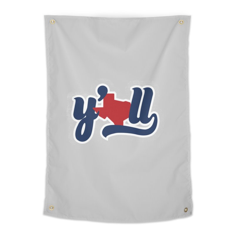 Texas y'all Home Tapestry by inkmark outpost